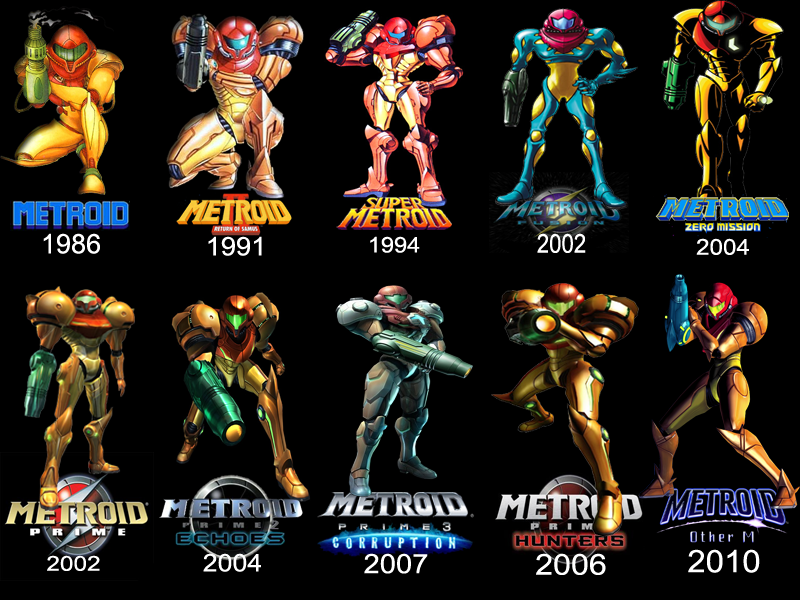 Happy 28th Anniversary Metroid Innovations By Vinnymac